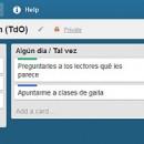 Trello: aplicación web para gestionar tareas tuyas o en grupo
