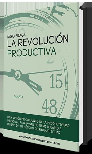 La revolución productiva, Iago Fraga, portada, libro productividad