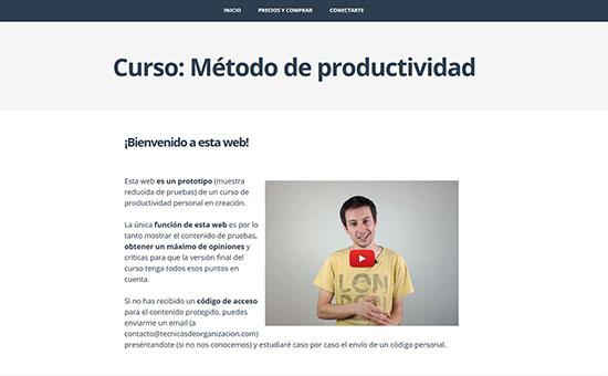prototipo, curso