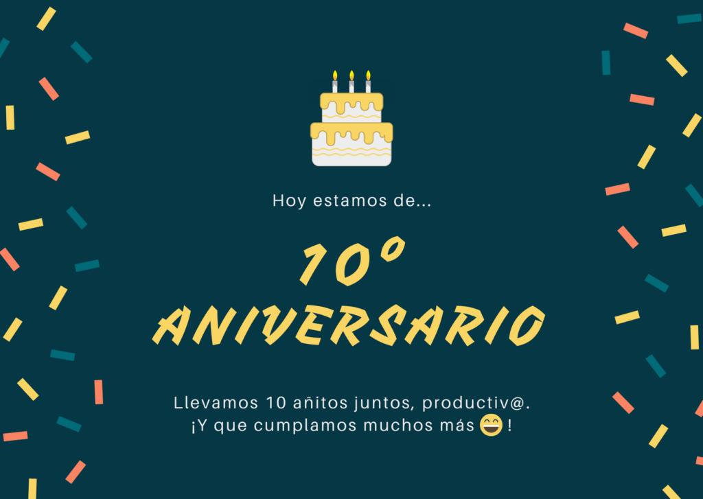 10, aniversario, iago fraga